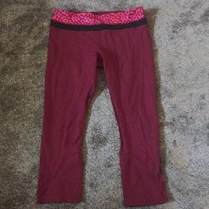 Lululemon run inspire size 8 capri worn once